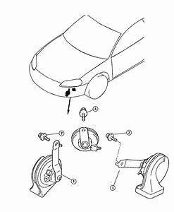 2005 Chrysler Sebring Horn