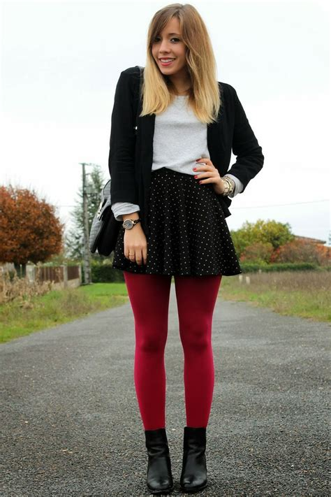 les collants rouges red tights red  tights