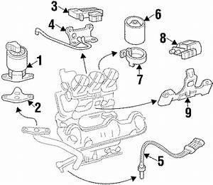 Pontiac Grand Prix Oxygen Sensor  Manifold  Liter  Exhaust