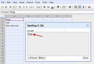 google spell checker api c With google docs upload spreadsheet