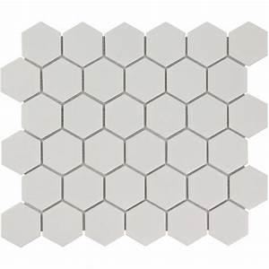 Carrelage Hexagonal Blanc : carrelage hexagonal blanc fashion designs ~ Premium-room.com Idées de Décoration