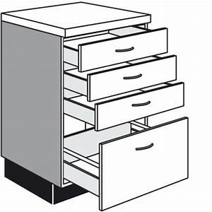 Küchen Unterschrank Auszug : unterschrank mit 3 schubkasten und 1 auszug ~ Markanthonyermac.com Haus und Dekorationen