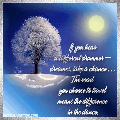 Quotes Sayings Inspirational Band Chance Marching Take