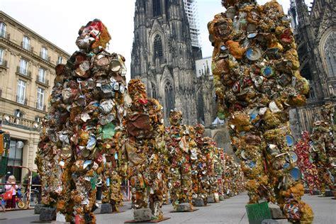 Crazy Art Ha Schult's Trash People