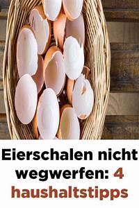 Klebereste Von Kunststoff Entfernen : eierschalen nicht wegwerfen 4 haushaltstipps haushalts tipps haushalt und eierschale ~ Watch28wear.com Haus und Dekorationen