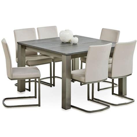 table de cuisine a rallonge table carrée stratifiée extensible vario