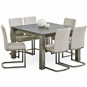 Table Carre Extensible : table carr e stratifi e extensible vario ~ Teatrodelosmanantiales.com Idées de Décoration