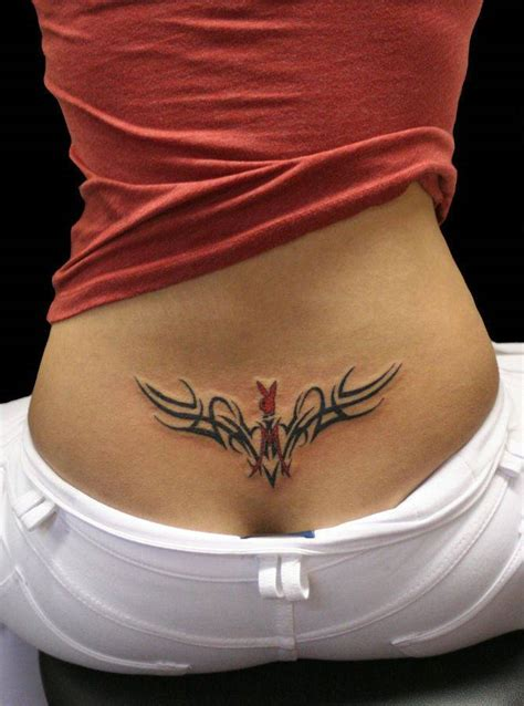 100's of Lower Back Tribal Tattoo Design Ideas Pictures ...