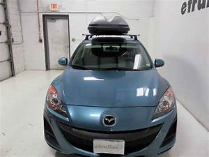 2011 Mazda 3 Thule Pulse Large Rooftop Cargo Box
