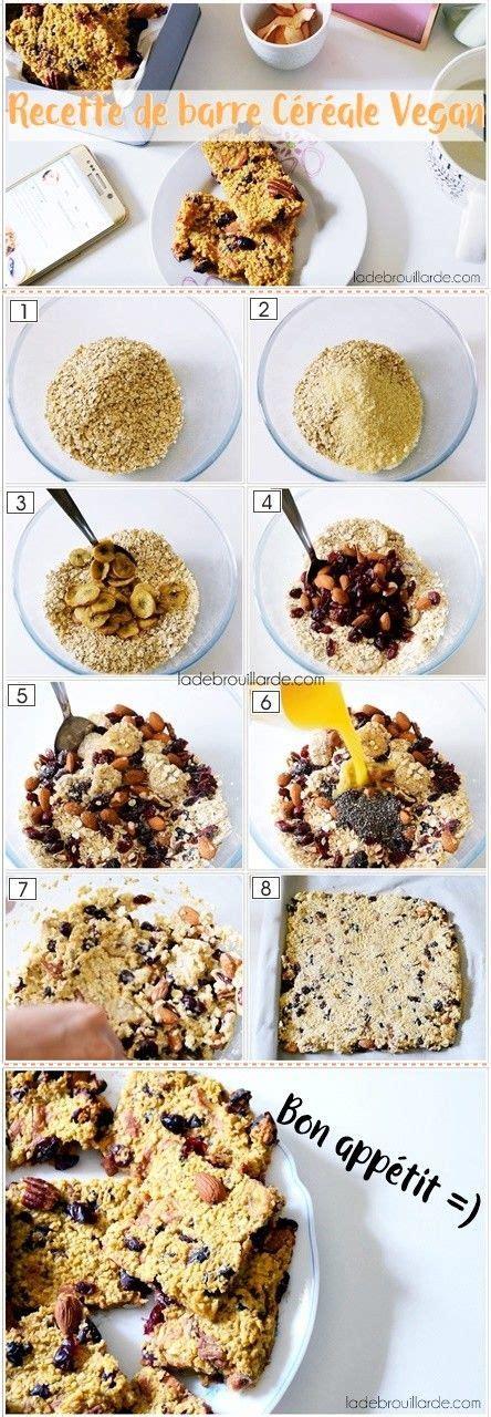 cuisine vegan facile recette barre céréale maison vegan heatly facile à faire