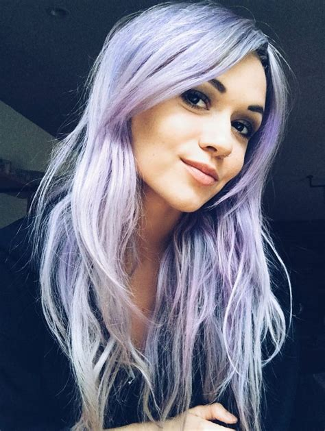 Best 25 Pastel Purple Hair Ideas On Pinterest Awesome