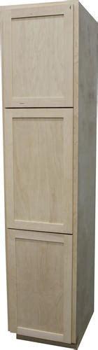 menards kitchen cabinets unfinished quality one 18 quot x 84 quot unfinished maple utility cabinet at 7433