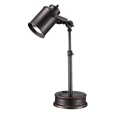 usb light bulb socket monteaux lighting 19 75 in adjustable oil rubbed bronze