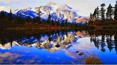Spring Landscape Wallpapers Desktop Mountain Background Pc