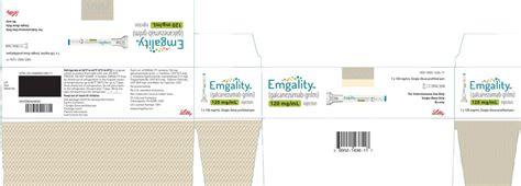 Emgality is slightly less popular there are currently no generic alternatives to emgality. RX ITEM-Emgality GALCANEZUMAB 120 Mg/Ml Pfp Subcut Pen ...