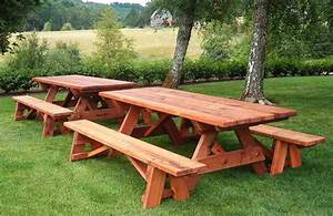 Fe Guide Building : Picnic table with built in cooler plans