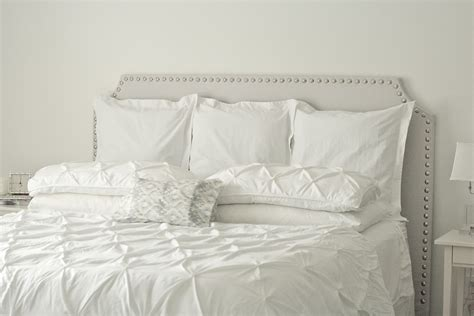 White King Headboard Canada by Linen Headboard Canada Gallery Pictures For