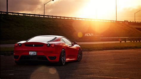 Adv1 Wheels Ferrari F430 Wallpaper