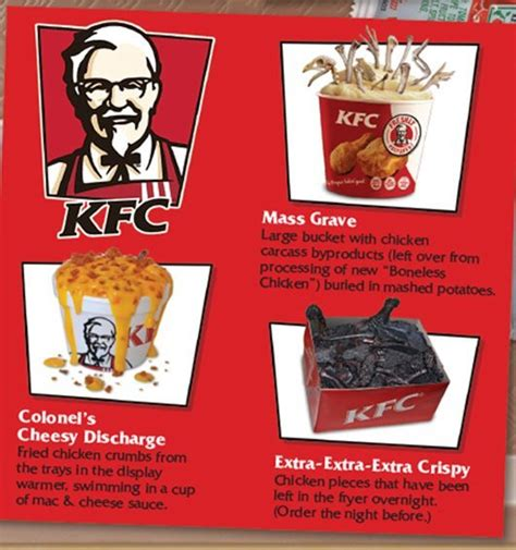 Check out our menus today! Fast Food Secret Menus...by Mad Magazine - Morsels