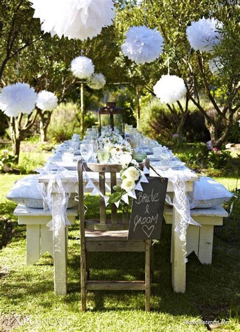 pin de julie ramen en decoracion en  boda en jardin