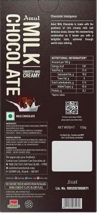 amul milk chocolate chocolounge