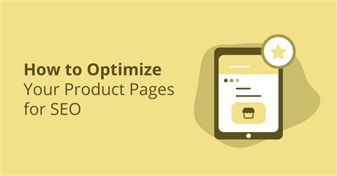 Complete Guide How Optimize Your Product Pages For Seo