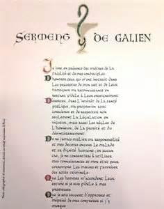 livre de mariage serment de galien commander le serment du pharmacien texte calligraphié et enluminé à offrir