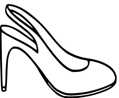 Hakken Schoenen Kleurplaat kleurplaat schoen met hakken sinterklaas vetcool