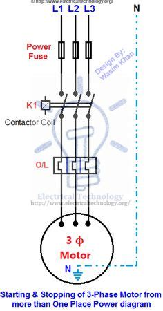 Phase Motor Speed Direction Control Diagram