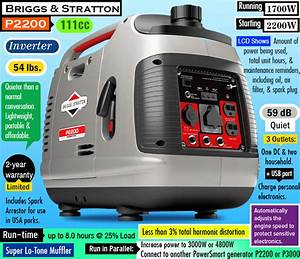 Briggs And Stratton P2200 Review