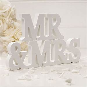 wooden mr mrs letters off white confetticouk With mrs and mrs wooden letters