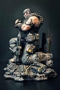 La Figurine De Ldition Epic De Gears 3 En Dtail Xbox