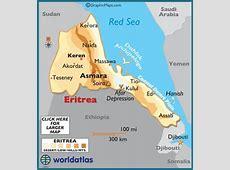 Eritrea Map Geography of Eritrea Map of Eritrea