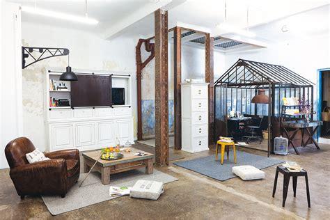 bureau industriel maison du monde style industriel ou style factory pour votre maison i