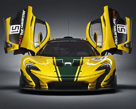 Racing Car by Mclaren P1 Gtr Racing Car From Design Concept To Track