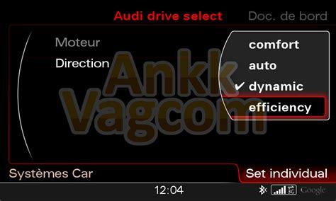 q5 8r facelift activer l audi drive select individual ankk vagcom