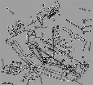 32 John Deere 62c Mower Deck Belt Diagram