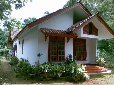 desain rumah sederhana cocok    tinggal  pedesaan wendy gypsum larantuka
