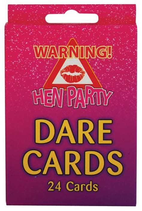Truth Or Dare Cards