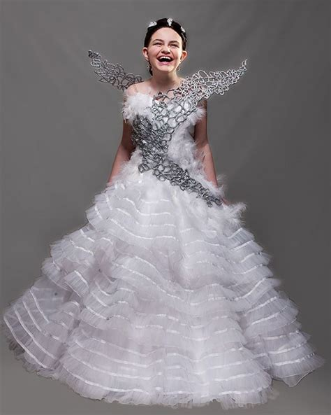 how i made that katniss s catching fire wedding gown