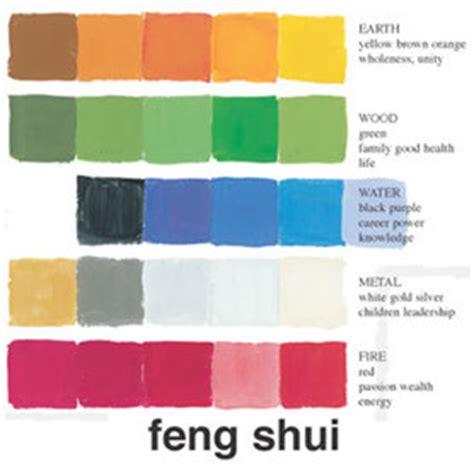 couleur feng shui pour chambre