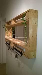 Garderobe Aus Paletten : recycled pallet shelving ideas pallet wood projects ~ Sanjose-hotels-ca.com Haus und Dekorationen