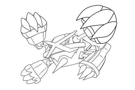 Pokemon Swampert Coloring Pages Download And Print For Free