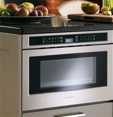 zwlsjss monogram  microwave drawer