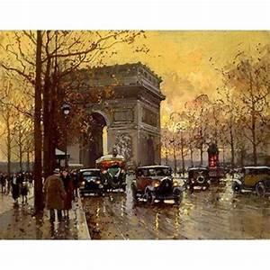 Peinture De Paris Poissy : vente reproduction peinture paris 10 tableau tableaux ~ Premium-room.com Idées de Décoration