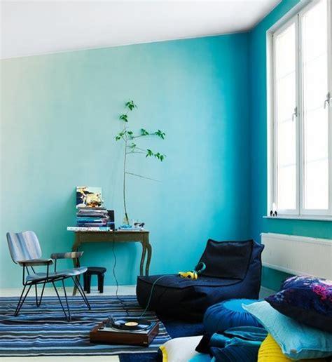 Zimmer Farbe Blau by 62 Kreative W 228 Nde Streichen Ideen Interessante Techniken