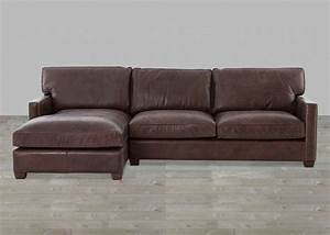 genuine leather sectional with chaise vintage cigar top With genuine leather sectional sofa with chaise