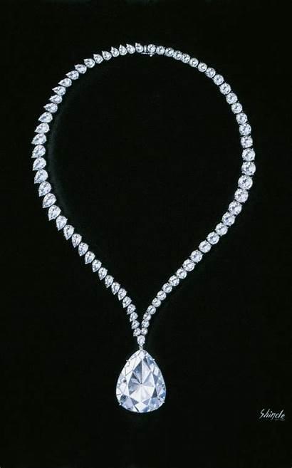 Winston Harry Star Diamond Necklace Jewellery Independence