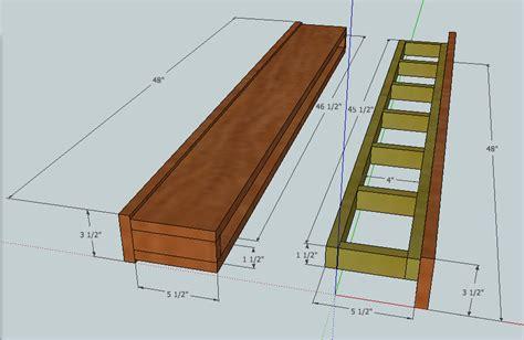 ana white barn beam floating shelf diy projects