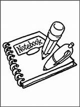 Notebook Coloring Para Dibujo Libreta Pintar Pages Clipart Clipartpanda Panda Terms sketch template